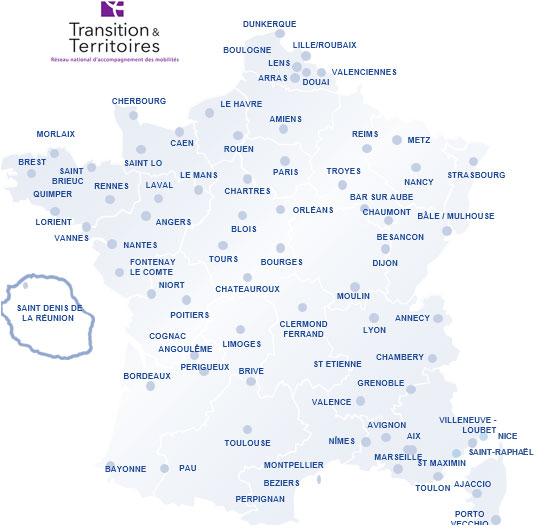 Carte Transitions et Territoires